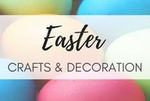 Easter! / Wonderful Easter craft and home ideas!  Get the inspiration,Pin for later!