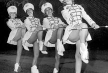 Majorettes - girls who twirl!