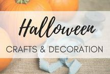 Halloween Crafts & Costumes / Get inspired this Halloween - find cool Halloween crafts, spooky Halloween decoration, Halloween costumes and more killer ideas for a creepy Halloween party