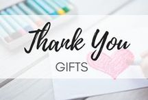 Thank You Gifts / It is great to express our gratitude with a simple small thing to give - a gift, a card, a flower... or just a gesture. No matter of the situation or the person. Thank you cards | thank you gifts| appreciation gift ideas | how to say thank you | thank you quotes