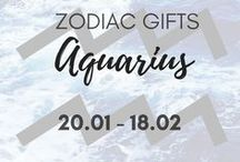 Zodiac Gifts // Aquarius 20 Jan-18 Feb / ♒Everything Aquarius ♒ Aquarius personality traits, Aquarius qualities, Aquarius quotes AND MOST IMPORTANT ->>> Aquarius gifts  Explore my selection of thoughtful gifts for Aquarius and PIN for later!