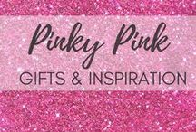 Pinky Pink Gifts + Inspiration / Pink isn't just a color! It's an attitude. Pink attitude  Love to share my pinky pink findings, especially the PINKY GIFTS FOR PINK LOVERS !