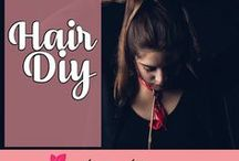 Best Hair DIY / Collection of easy to do tutorial or DIY of Hair Treatments, Hair Color, Hair Styles, Hair Accessories,  Hair Bleach, Hair Updo, Long, Ombre, For Growth and many more. Enjoy! <3
