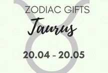 Taurus Gifts & Personality Traits // Zodiac Gifts / A great collection of gifts for Taurus, gift tips and ideas, Taurus personality traits to help you find the perfect gifts and products for those born between 20th April - 20th May. {written by a real Taurus}