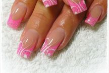 Hot looking Long Nails / Long nails with great designs. www.jdshairsalon.com