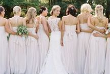 Bridesmaids / Beautiful bridesmaid dresses, jewelry and accessories...  http://www.LoveShineBridal.etsy.com