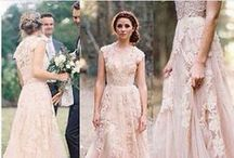 Blushing Brides / Simply stunning...Here you will find show-stopping inspirational looks, featuring beautiful bridal dresses and shimmering accessories for your special day...  http://www.LoveShineBridal.etsy.com