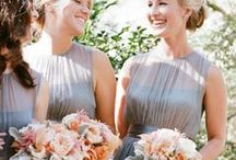 Grey Wedding Theme / Design and color inspiration to create a stunningly beautiful grey-themed wedding...  http://www.LoveShineBridal.etsy.com