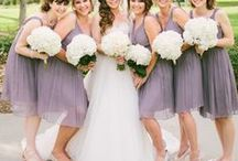 Purple Wedding Theme / Purple is the color of royalty...and today you will feel like a princess...  http://www.LoveShineBridal.etsy.com