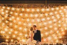 Outdoor Rustic Wedding / Design and decor inspirations to set the stage for the perfect rustic wedding, whether its in indoors or under the stars...  http://www.LoveShineBridal.etsy.com