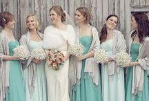 Aqua Wedding Theme / Design and color inspirations for an aqua-themed wedding...  http://www.LoveShineBridal.etsy.com