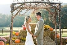 Autumn Wedding / Design ideas and color inspirations for a warm, down-to-earth wedding.  Perfect for autumn and winter special occasions...   http://www.LoveShineBridal.etsy.com