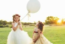 Flower Girl Fashions (Ring Bearers Too!) / Adorable attire and accessories for the Little Lovlies in you life...  http://www.LoveShineBridal.etsy.com