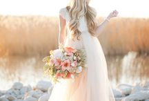 Wedding wreaths and flowers