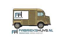 Fabriekshuys strips / Verzameling van strips gemaakt door Fabriekshuys Tekenstudio
