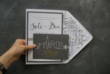 Design studio   NYC wedding invitations / Project inspiration