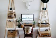 WORK SPACE AT HOME - INTERIOR DESIGN / WORK SPACE AT HOME