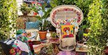 Bohemian Garten / Hippie-ya-yeah! Boho, Bohéme Lifestyle im Garten, auf der Terrasse und dem Balkon. Hier findet Ihr Deko, Ideen und viel Inspiration für den Hippie-Lifestyle im eigenen Garten