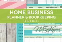 Organization & Time Management for Self Employed Business Owners / Organization Tips & Time Management Tools, Tips and Ideas for Women running a Home-Based Business.