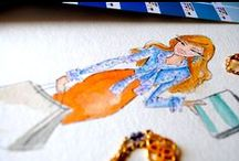 {A R T ✭ fashion illustrations} / Fashion Illustrations / by Artistry International, Inc.