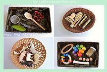 Montessori work & materials ideas