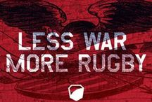 Rugby / Never back down, Never stay down.