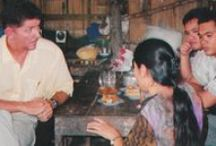 The Beginning / In 2003, Mike and his wife, Beth, got involved in helping a handful of orphaned and abandoned children living in Myanmar refugee camps on the Thailand border. One small group of orphan children led to another, then another. Resolving to make a difference in the lives of orphans around the world, Mike traded out his business suits for a backpack, a mosquito net, and a passport.