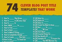Marketing: Blog / Blog tips, ideas and tools for women business owners