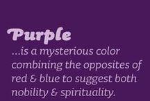 Purple / by Debi Hughlett
