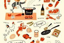 Soepen (en sausjes) / Omdat ik er zo gek op ben!