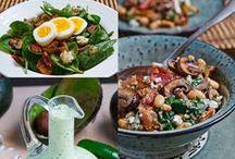 Health: Scrumptious Salads / yummy salad recipes