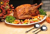 Thanksgiving / Turkey, roasted turkey, how to cook a turkey, carving a turkey and everything else turkey!