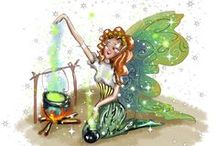 Gear Up for Camping with Chrissy the Camping Fairy / Meet Chrissy the camping fairy. Because Chrissy loves the outdoors so very much fairy headquarters has put her in charge of looking after human campers. One of Chrissy's most extra special talents is creating the warm and cozy campfires for human campers to enjoy on cool evenings or just roasting marshmallows…As you can see she does have a little help from magical fairy dust.