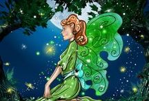 """Magical Fairies - Free Fairy Stories / Get your weekly """"Free"""" Magical Fairy Stories! I know you will love them-Teelie Turner!"""