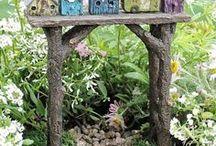 Trellises, Arbors and Garlands - Fairy Garden Decor