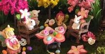 DIY - Fairy Garden / Here are some awesome DIY project ideas to inspire you to get started on your very own fairy garden. Don't forget to be creative and welcome the fairies into your home!