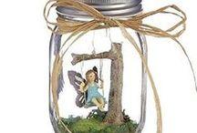 Mason Jar Fairies - Fairies and Friends