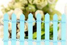 Fences and Ladders - Fairy Garden Decor