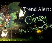 """Trend Alert: The Fairy Trend / Meet all of our fairies! They all have amazing products for you to wear, decorate your home with, product to create your own magical fairy garden and so much more! You can now take your favorite fairy with you  anywhere you go! """"It's a Fairy Thing!"""""""