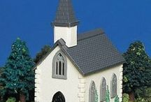 Churches - Houses and Cottages