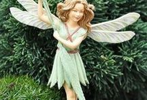Flower Fairies / Create a magical land full of wonderful fairies and enchanted folks! Our collection of flower fairies would make more enchanted creatures moved in to your fairy garden!