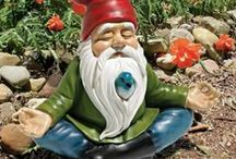 Gnomes / The gnomes are fairies' good friends! They're always there to help the fairies around the garden. They cook delicious pies too! We have a fantastic collection of gnomes that the fairies in your garden would be excited to welcome!