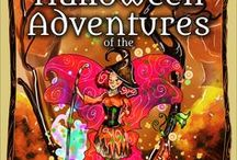 Halloween Adventures of 5 Spooktacular Fairy Witches / You will also meet 5 of the cutest Halloween Witches to arrive in the Fairy Kingdom ready to create some Halloween Magic!
