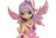Strangeling Fairies / Discover a world full of wonders and enchantment! Our collection of strangeling fairies would ignite the wee folks curiousity of your fairy garden!