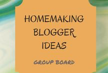 Homemaking Blogger Ideas / Homemaking, recipes, parenting, and anything else that can help with the day to day that is our life. Message me you would like to join this group board.