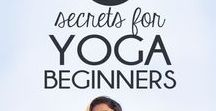 Yoga For Beginners / Are you just starting out with yoga? Or maybe you'd like to start yoga at home but you don't quite know how? Fear not, my fabulous yoga-curious friend! Here are the best beginner yoga resources - whether you want to lose weight with yoga or manage your stress and anxiety. On this board I collect beginner yoga poses, tips for doing yoga at home, general yoga tips for beginners, and yoga workouts and sequences for beginners.