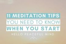 Mindfulness | Meditation For Beginners / This board is here for all your meditation and mindfulness needs! You'll find meditation tips for beginners, meditation for anxiety, meditation and mindfulness tips, mindfulness activities and exercises, meditation for anxiety, meditation techniques. Learn how to meditate even if you're a beginner!