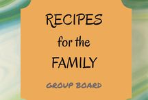 Recipes for the Family / Meals to make for your hungry family. This is a group board, if you are interested to join follow the board and contact me! Vertical images food recipes only!
