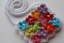 Crochet - Bags And Purses 1! / Lots of colorful bags for all ages particularly kids
