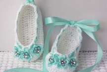 Crochet - Baby And Kids Shoes 2 !